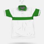 135 White + Parrot Green