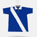145 Royal Blue + White