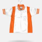 34 White + Orange