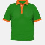 44 Parrot Green + Orange