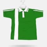 86 Parrot Green + White